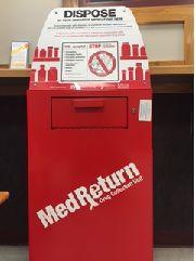 Prescription Drug Drop Off Box